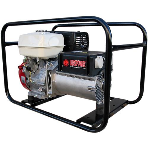 Генератор бензиновый Europower EP 6500 T 3X230V для ж/д в Малая Вишерае