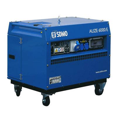 Генератор SDMO ALIZE 6000 E в Малая Вишерае