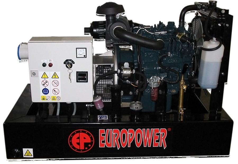 Генератор дизельный Europower EP 30 DE в Малая Вишерае
