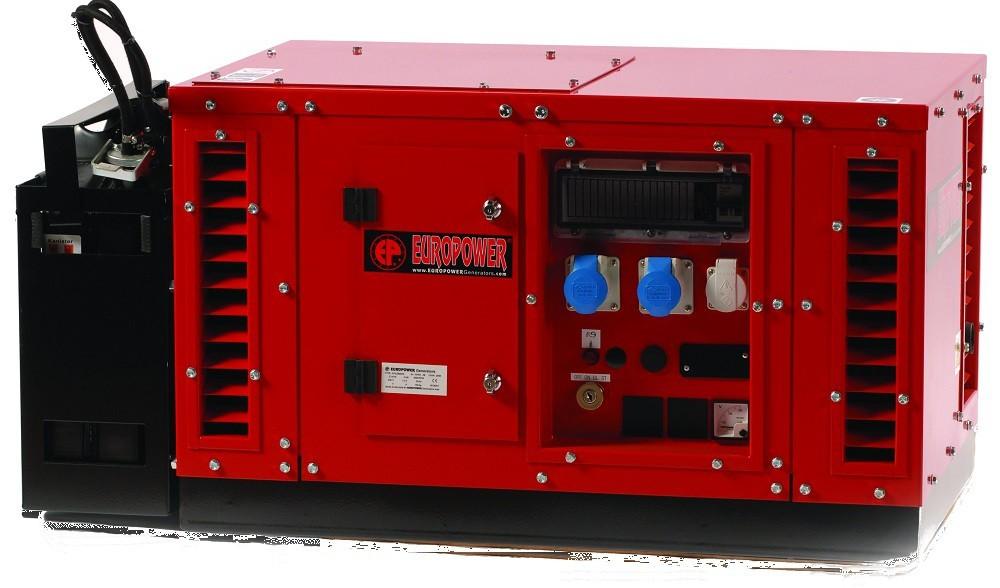 Генератор бензиновый Europower EPS 15000 TE в Малая Вишерае