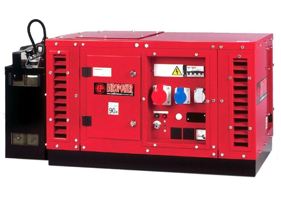 Генератор бензиновый Europower EPS 6000 E в Малая Вишерае