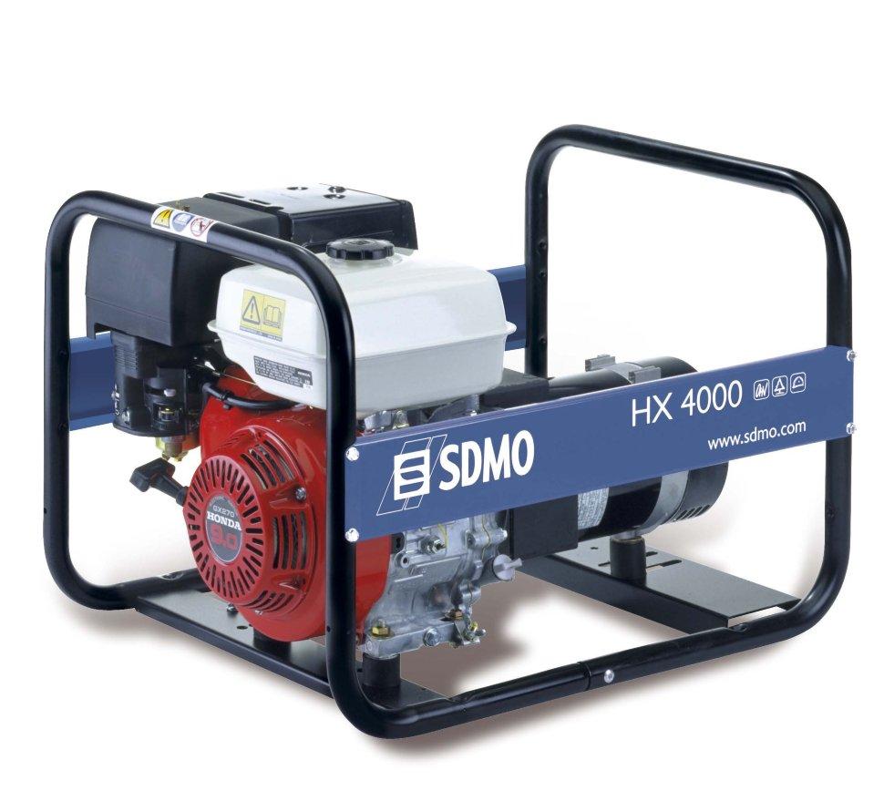 Генератор SDMO HX 4000-S в Малая Вишерае