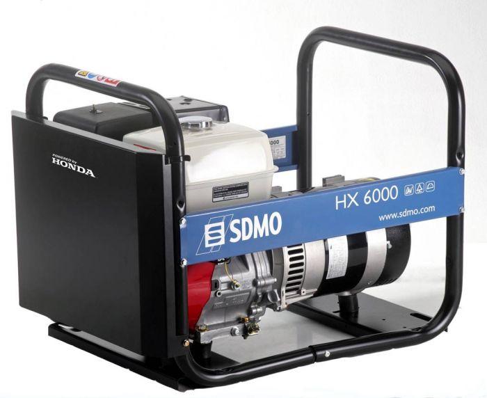 Генератор SDMO HX 6000-S в Малая Вишерае